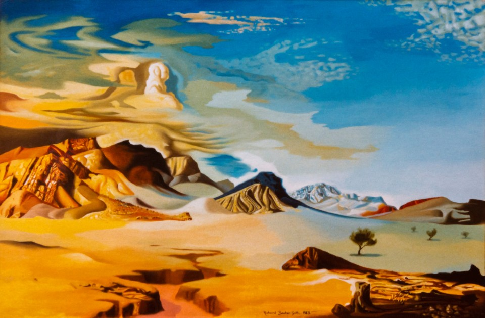 Dali-esqu Heysen Range