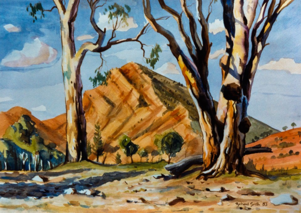 Heysen Hill, Brachina Creek