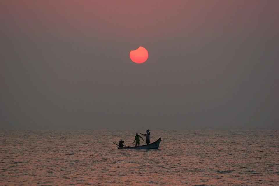 Eclipse, Mamalapuran